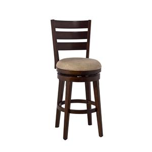 Hillsdale Wood Stools Lenox Swivel Counter Stool