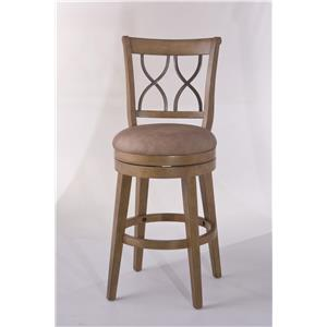 Hillsdale Wood Stools Reydon Swivel Bar Stool
