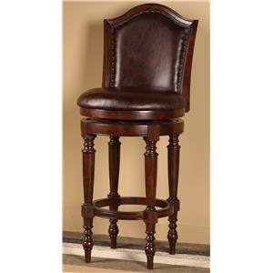 Hillsdale Wood Stools Barcelona Bar Stool