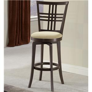 "Hillsdale Wood Stools 30"" Bar Height Tiburon Stool"