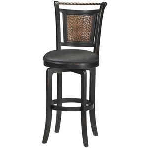 "Hillsdale Wood Stools 26.5"" Counter Height Norwood Swivel Stool"