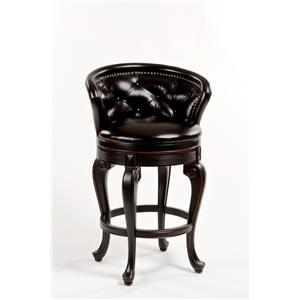 Hillsdale Wood Stools Beckett Swivel Counter Stool