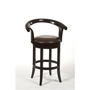 Hillsdale Wood Stools Apsley Swivel Counter Stool