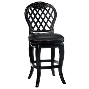 "Hillsdale Wood Stools 30"" Bar Height Braxton Stool"