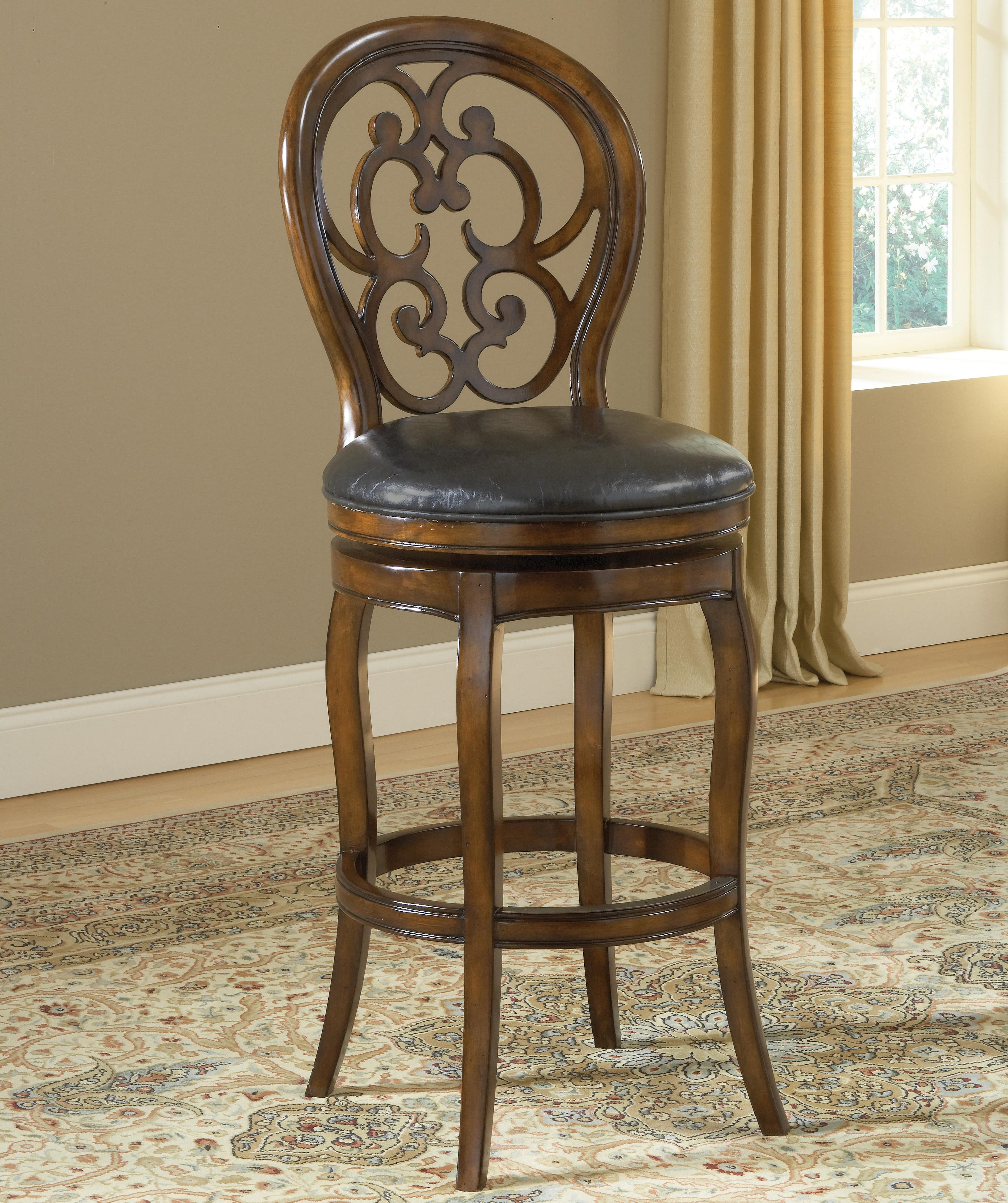 Counter Height Bar Stools Wood. Brown Wooden With Grey Cuhsion And ...