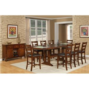Holland House Layton Layton 9 Pc. Dining Set