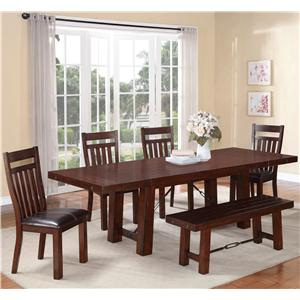 Holland House Gable Gable 6 Pc.Dining Set
