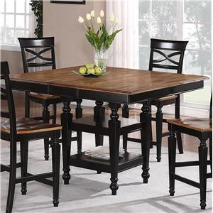 Holland House 1272 Dining  Counter Height Storage Table