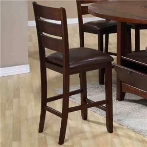 Morris Home Furnishings Dublin Dublin Cushioned Barstool