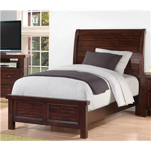 Holland House SONOMA YOUTH Twin Sleigh Bed