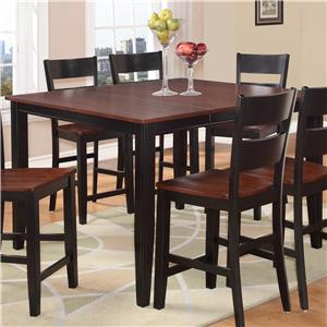 Holland House 8202 Square Counter Height Pub Table