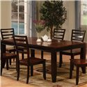 Holland House Adaptable Dining Rectangle Leg Table - Item Number: 1267-4278L