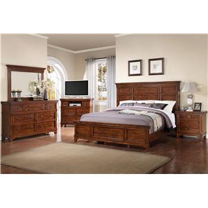 Holland House Layton King Bedroom Group 2