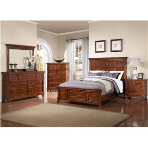 Holland House Layton Queen Bedroom Group 1