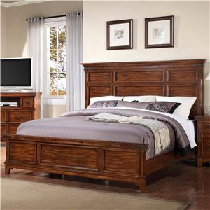 Holland House Layton Queen Panel Bed