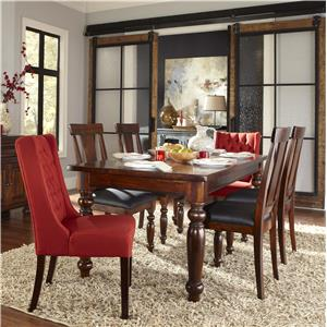 BeGlobal Meridian 7 Piece Table & Chair Set