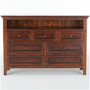 BeGlobal Timber Ridge Media Chest