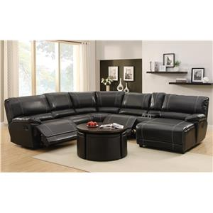Homelegance Cale Reclining Sectional