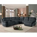 Transitional 6 Piece Sectional