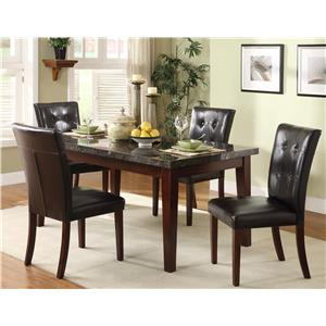 Homelegance Decatur 5 Piece Dining Set