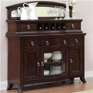 Homelegance Keegan Sideboard with Mirror