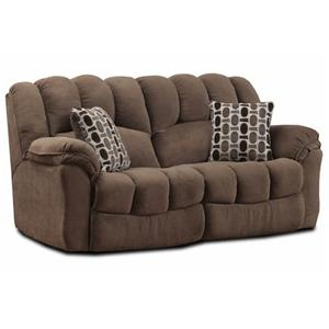 HomeStretch 108 HS Double Reclining Sofa