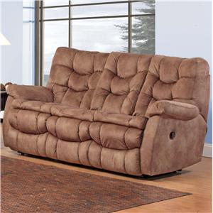 HomeStretch 111 HS Double Reclining Sofa