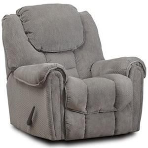HomeStretch 122 Casual Rocker Recliner