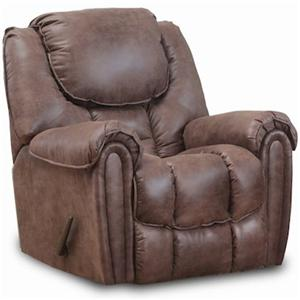 HomeStretch 122 Casual Power Rocker Recliner