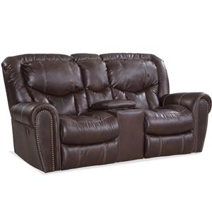 HomeStretch 123 Collection Traditional Power Reclining Love Seat