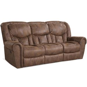 HomeStretch 123 Collection Traditional Power Reclining Sofa