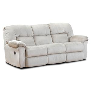 HomeStretch 125  Reclining Sofa