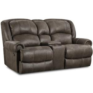 HomeStretch 131 Casual Reclining Love Seat