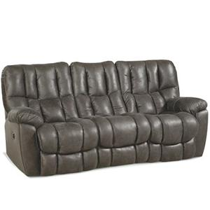 HomeStretch 133-91 Casual Double power Reclining Sofa