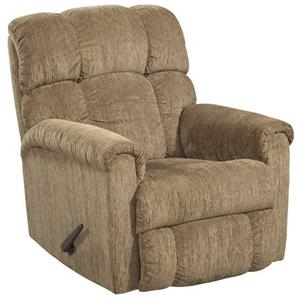 HomeStretch 134 Chaise Rocker Recliner