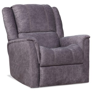 Power Reclining Lift Chair with Contrast Stitching