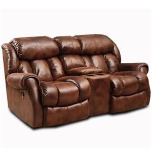 HomeStretch Cody Casual Loveseat