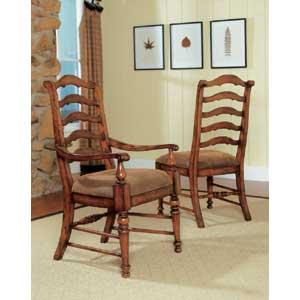 Hamilton Home Waverly Place Ladderback Arm Chair