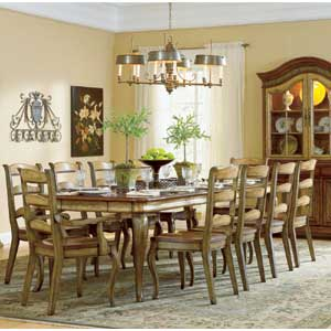 Hooker Furniture Vineyard Rectangle Dining Table