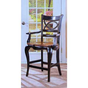 Hooker Furniture Preston Ridge Oval Back Counter Stool