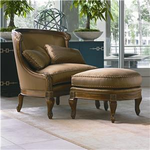 Century Century Chair Monaco Chair and Ottoman