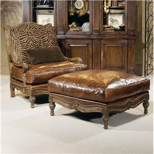 Century Century Chair Kittery Chair and Ottoman