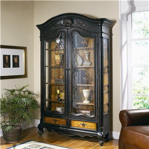 Hooker Furniture North Hampton Display Cabinet