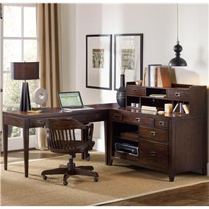 1457 Main 5396 4 Piece Corner Desk Set