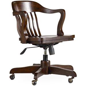 Hooker Furniture 5396 Tilt Swivel Desk Chair