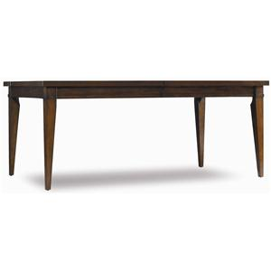Hooker Furniture Abbott Place Rectangular Dining Table