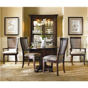 Hooker Furniture Abbott Place 3 Piece Table & Chair Set