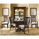 Hooker Furniture Abbott Place 3 Piece Drop Leaf Table & Chair Set