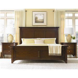 Hooker Furniture Abbott Place King Panel Bed