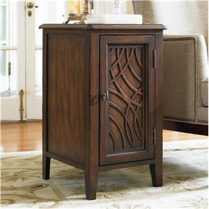 Hooker Furniture Living Room Accents Chairside Chest